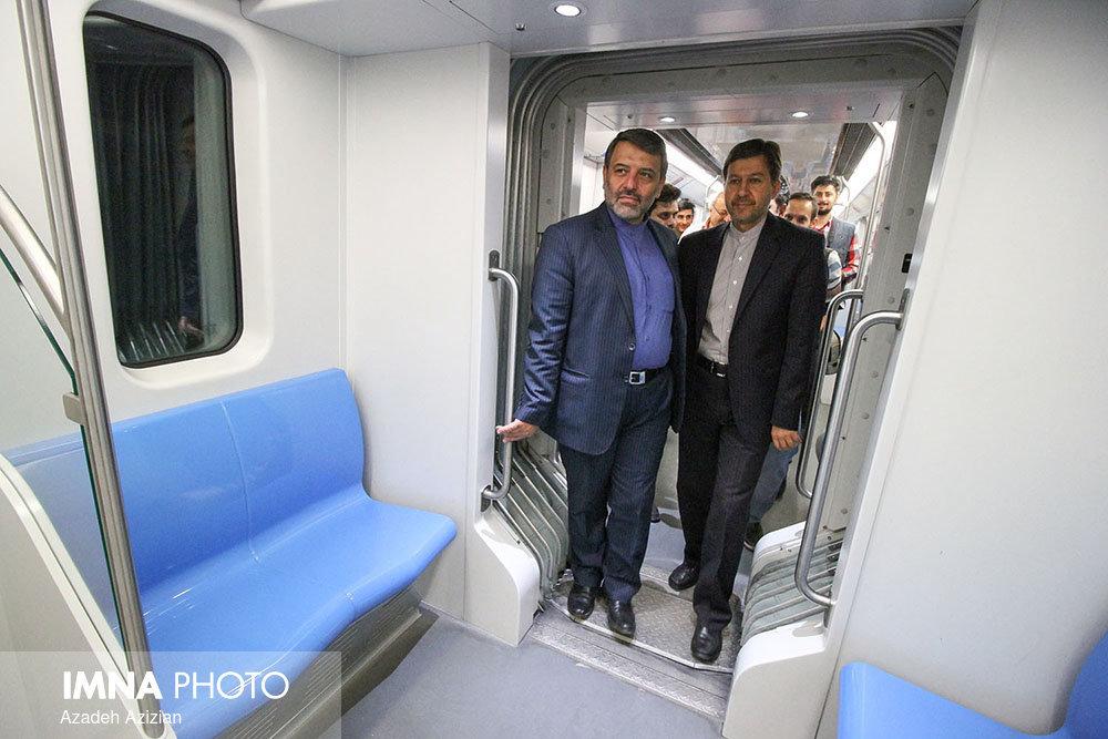 Vibration testing/ phase 3 of Isfahan 1st metro line