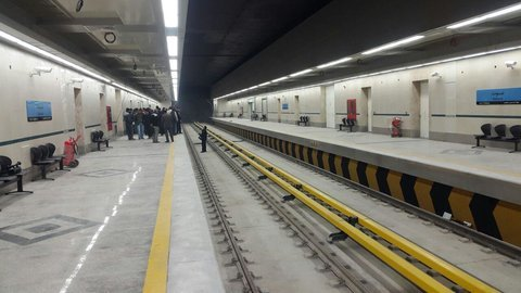 Si-o-Se-Pol metro station to be available by mid-August