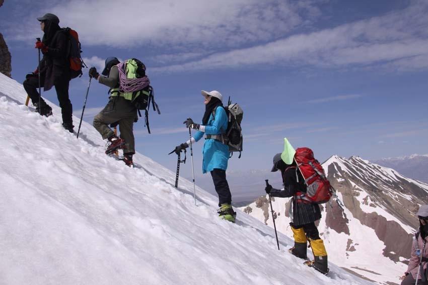 هشدار برای کوهنوردان در روزهای پنجشنبه و جمعه