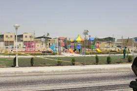 بوستان گلستان در منطقه ۷ افتتاح شد
