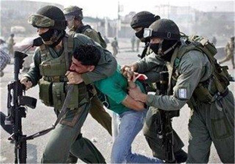 بازداشت فلسطيني ها