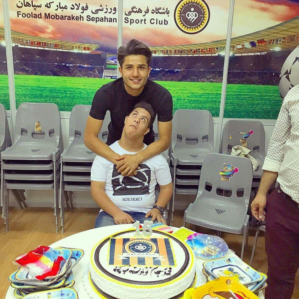 سپاهانیها برای محمد تولد گرفتند + تصاویر