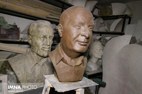 Isfahani sculptor