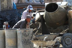 روند ساخت و پیشرفت پروژه سالن گلستان شهدای اصفهان