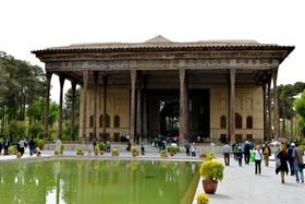 اجرای ۱۰ طرح مرمت و ساماندهی در مجموعه جهانی کاخ چهلستون اصفهان