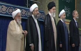مراسم تنفیذ ریاست جمهوری روحانی آغاز شد