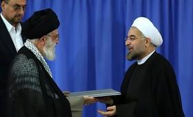 امام خامنهای حکم ریاستجمهوری حجتالاسلام روحانی را تنفیذ کردند + متن حکم