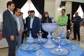 نمایشگاه اقتصاد مقاومتی در حرم زینبیه اصفهان