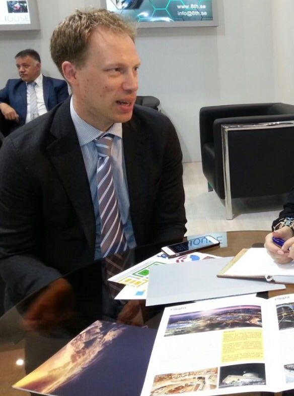 Niklas Engström: Isfahan Municipality has a high profile