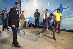 شهردار اصفهان در جزیره ورزش