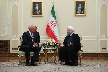 President calls for boosting Iran-Belarus economic ties
