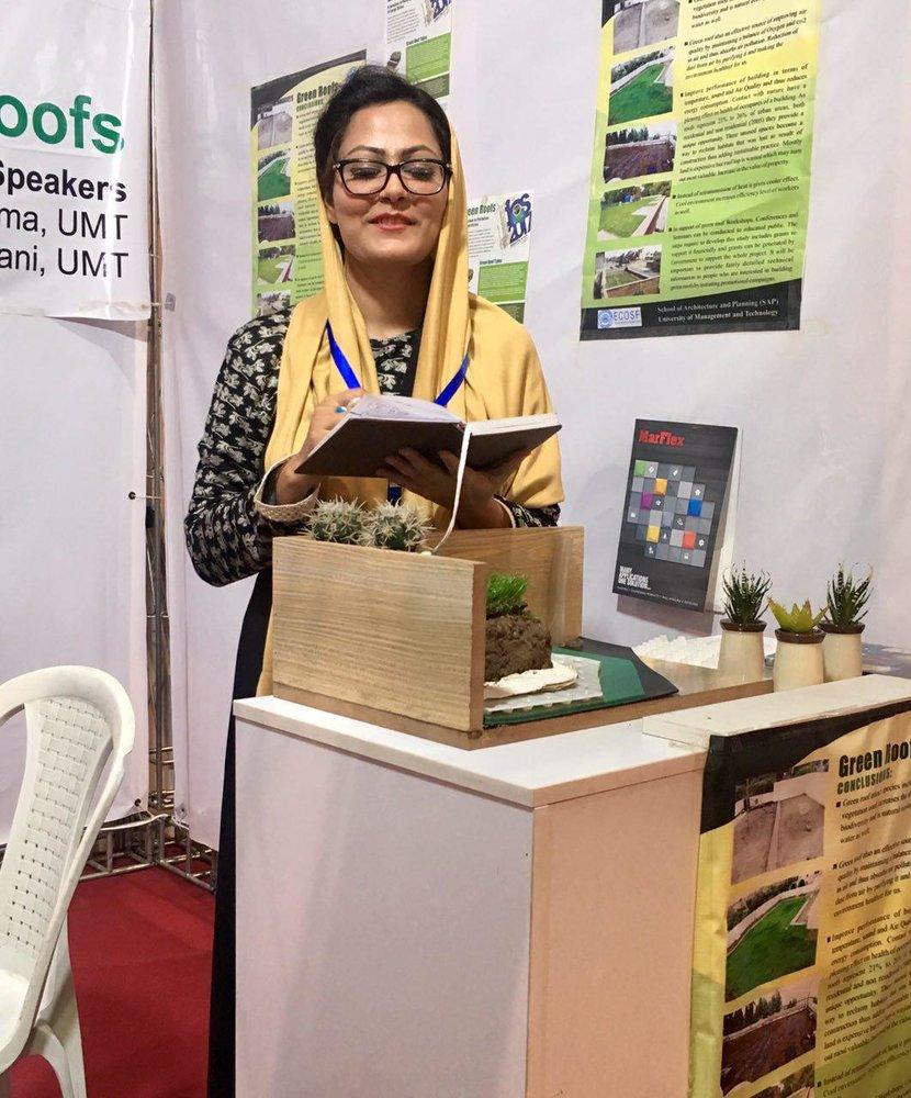 Technology has a vast future: Pakistani Alvina Fatima