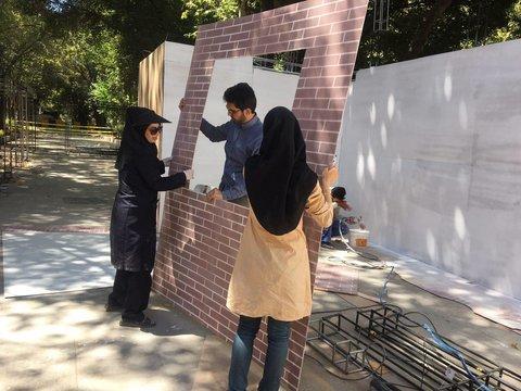 3D maquettes go on display on Chahar-Bagh-Abbasi Ave/ Isfahan