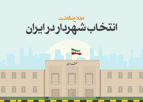 اطلاع نگاشت انتخاب شهردار در ایران