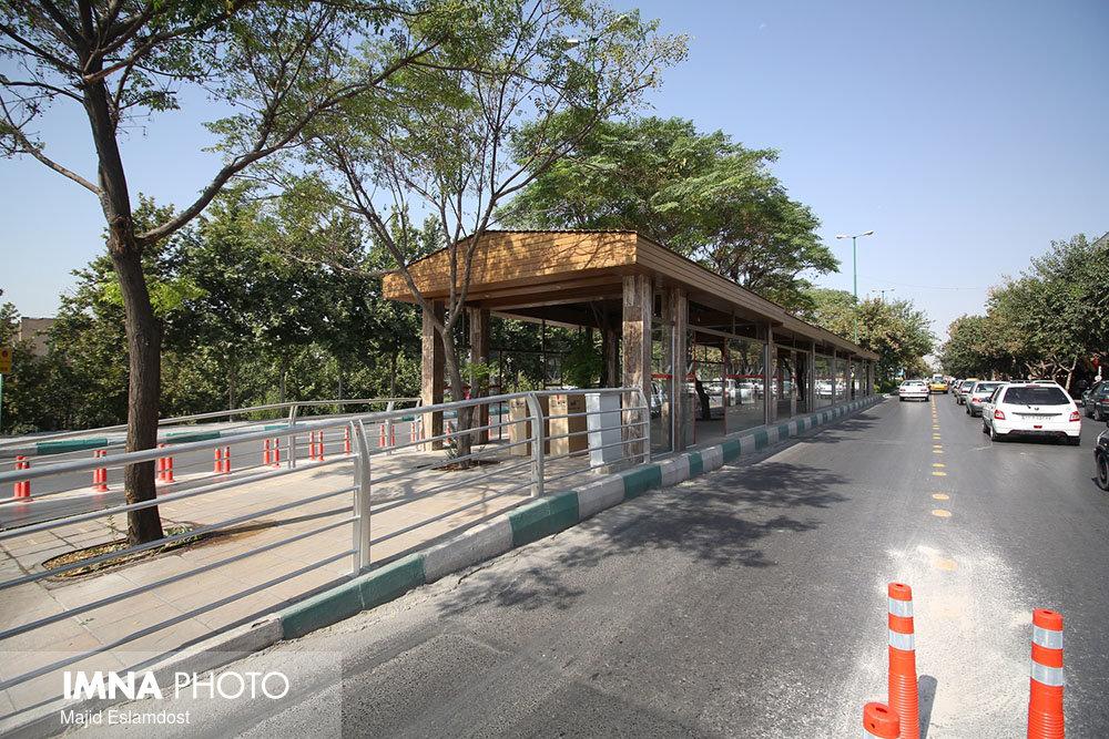 آغاز عملیات اجرایی پروژه مسیر BRT خیابان هشت بهشت