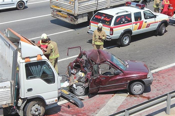رتبه پنجم لنجان در تصادفات فوتی برون شهری اصفهان