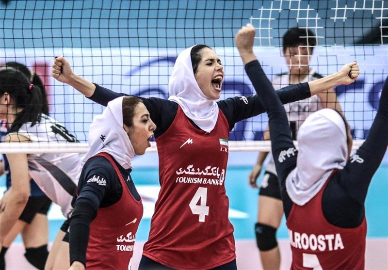 Asian Women's Volleyball Championship: Iran Finishes 9th