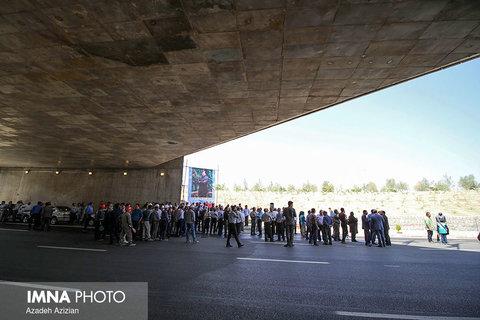 Ashkavand Interchange inauguration