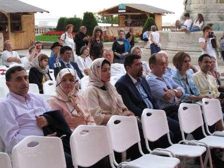 Iranian artists in Hungarian Handicrafts Festival