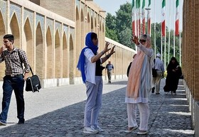 European travels to Iran raise to 56%