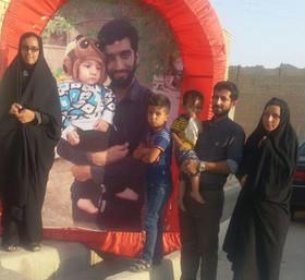 پیاده روی ۱۱۰۰ کیلومتری به عشق شهید حججی