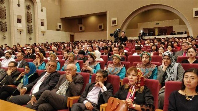 Iranian officials, cultural figures attend BIBF inauguration
