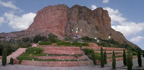 Mount Sofeh situated in southern Isfahan