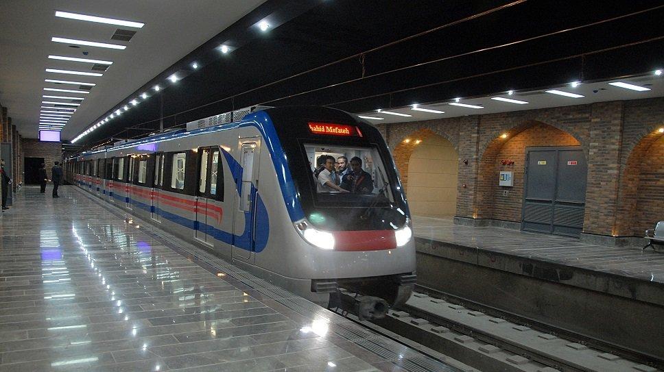 ایستگاه علیخانی در مدار خدمات رسانی مترو قرار گرفت