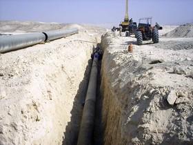 امنیت لوله های انتقال آب دهاقان با ساخت سوله انبار فراهم شد