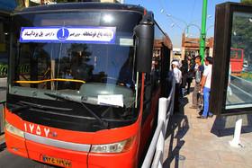اتوبوس تندرو شهرداری اصفهان سامانه ای برای رفاه حال همشهریان