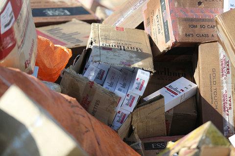 ۷ خوروی حامل کالای قاچاق در نطنز توقیف شد