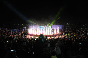 افتتاح فاز اول پردیس هنر در شبی به یادماندنی ....