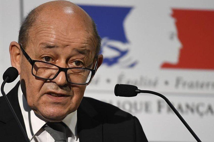تاکید وزیر خارجه فرانسه بر ضرورت پایبندی ایران به برجام