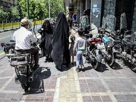 پیاده روی در تهران عذاب آور است