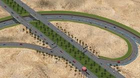 کلنگ تقاطع غیرهمسطح شهید اردستانی یک ماه آینده بر زمین زده میشود