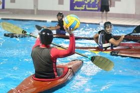 تمرینات آمادهسازی تیم ملی کانوپولوی جوانان در اصفهان