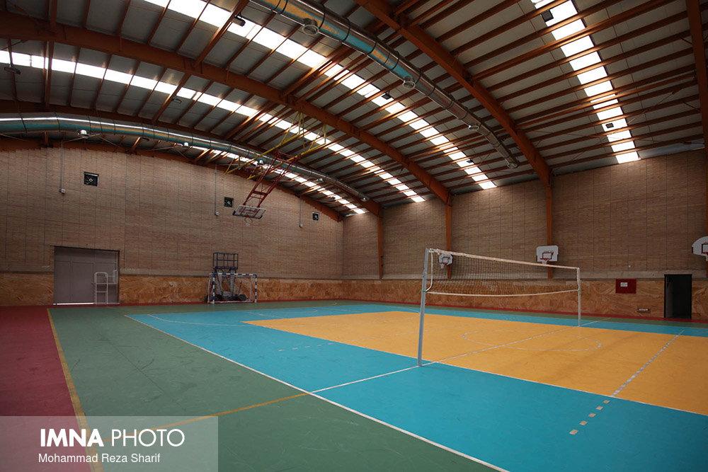 احداث سالن رزمی مجموعه ورزشی قائمیه در منطقه ۱۳
