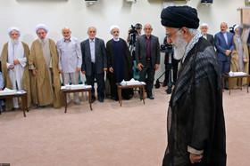 دیدار رئیس و اعضای دوره جدید مجمع تشخیص مصلحت نظام با رهبر معظم انقلاب