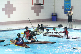 Junior Canoe Polo Team holds training camp in Isfahan
