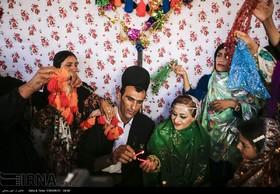 Wedding ceremony of Bakhtiari tribe in western Iran