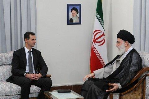 Assad thanks Iran's Supreme Leader to stand against terrorism