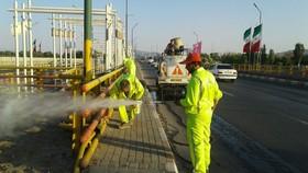 فعالیت شبانهروزی ۲۸۰ نیروی خدماتی در شهر اصفهان