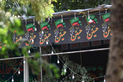 شهر سیاه عزای حسینی به تن کرد