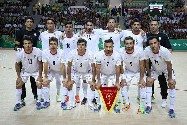 تیم ملی فوتسال ایران صدر آسیا و ششم جهان