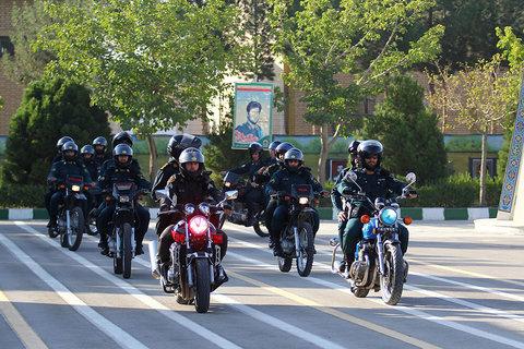 صبحگاه نیروی انتظامی