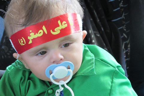 مراسم شیرخوارگان حسینی شهرستان سمیرم