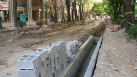 Chahar-Bagh Abbasi Ave. 2nd phase be fully cobbbled in a month