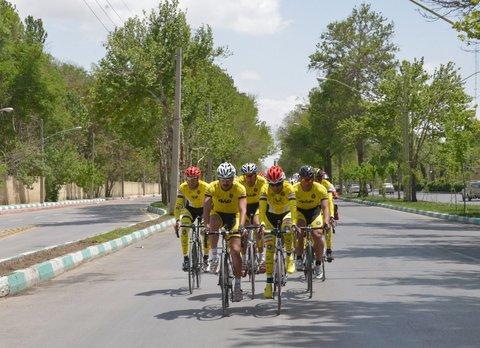 نایب قهرمانی سپاهان در  لیگ برتر دوچرخهسواری پیست