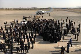 لحظه هایی از ورود شهید حججی به فرودگاه بدر اصفهان