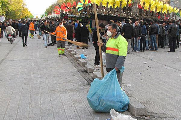 نیروهای شهرداری تهران تا ۳٠ مهر در نجف خدمترسانی میکنند